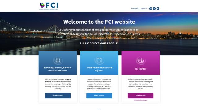 FCI Website Preview