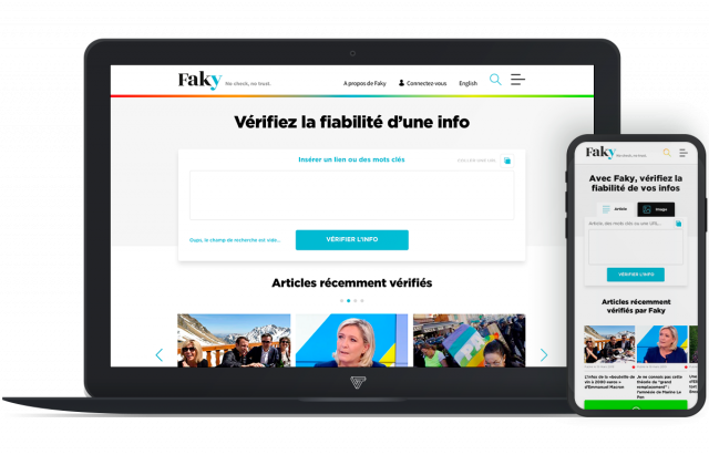 Faky Website by VOX TENEO